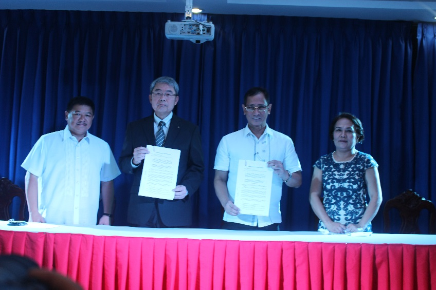MOA with Mitsubishi Motors Signed in TUP Cavite